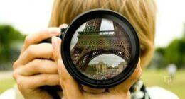Fotoğraf makinesi objektif görüntüleri