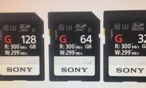 Sony şimdiye kadarki en hızlı SD kartını duyurdu SF-G Serisi