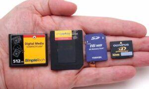 SD ve XD bellek kartları arasındaki fark nedir?