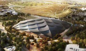 Google'ın önerdiği yeni kampüs, dev bir çadır kentine benziyor