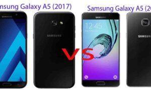 SAMSUNG GALAXY A5 (2016) VS SAMSUNG GALAXY A5 (2017)