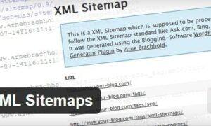 WordPress için  XML Site Haritası oluşturma