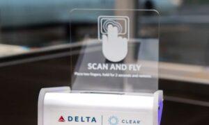 Delta, yolcuların parmak izi ile uçağa binmesini sağlıyor