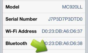 iPhone, seri numarası ve imei numarasını öğrenme