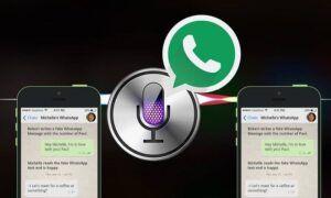 Siri kullanarak WhatsApp Grubu Mesajları Nasıl Gönderilir