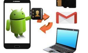 android telefon numaralarını yedekleme
