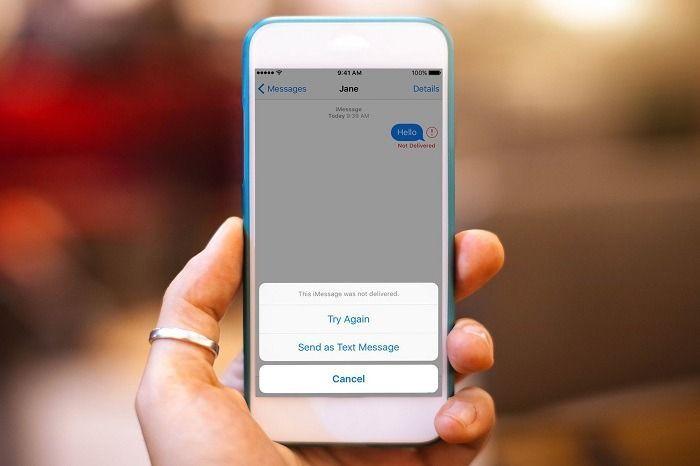 iphone x metin mesajları gönderilemiyor