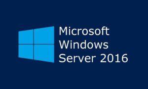 Windows Server 2016 Yükleme