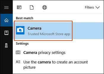 Windows 10'da web kamera çalışmıyor