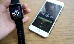apple watch spotify kullanımı