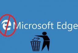 Edge tarayıcısını Windows 10'dan Tamamen Kaldırma