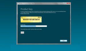 Windows Lisans Anahtarı Öğrenme
