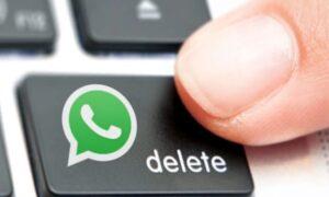 WhatsApp Hesabınızı kalıcı olarak silme