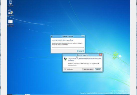 Windows Yanıt Vermiyor