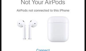 AirPods Adını iPhone veya iPad'tan Değiştirme