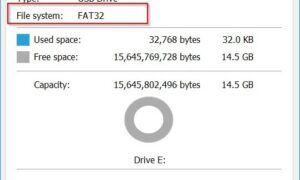 Windows'ta USB Flash Sürücüleri Bölümlere Ayırmak
