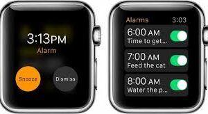 Apple Watch'ta Alarm Ayarlama