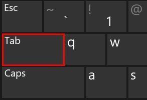 windows tab tuşu çalışmıyor