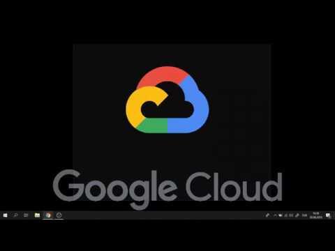 google cloud web sitesi kurma