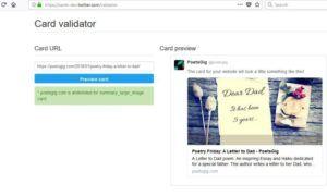 Twitter dev card Doğrulama Hatası Nasıl Düzeltilir