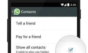 whatsapp kişiler görünmüyor iphone – android