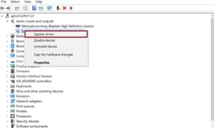Windows 10'da Aygıt Sürücülerini Güncelleme
