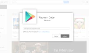 Google Play Hediye Kartlarını Kullanma