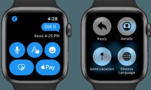 apple watch'da konum paylaşma nasıl yapılır ?