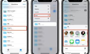 iCloud dosya Paylaşımı nasıl yapılır
