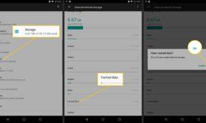 Android Telefonda Önbellek Nasıl Temizlenir