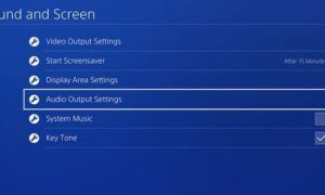 PS4 ses gelmiyor sorunu ve çözümü