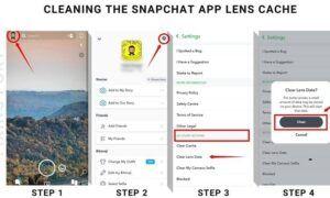 Snapchat kamera yakınlaştırma sorunu