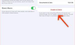 iCloud depolama alanınız dolu Sorunu ve çözümü