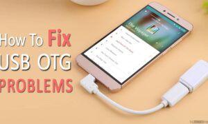 Android USB OTG Sorunları Nasıl düzeltilir?