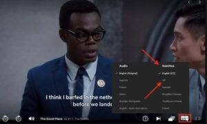 Netflix Uygulamasında Alt Yazılara Erişim