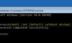 Windows 10 Güvenli Moddan Çıkma