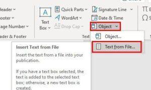 Word Belgesine PDF Ekleme
