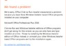 Office 2016 Yazım Denetleme Araçları Yüklenemedi