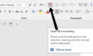 Microsoft Word Biçimlendirme Nasıl Temizlenir