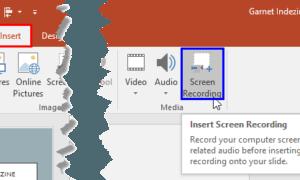 Microsoft PowerPoint'te Ekran Kaydı yapılır