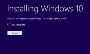 Windows 10 87 hatası ve çözümü