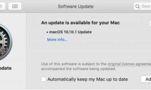 Mac App Store Uygulamaları Güncellenmiyor