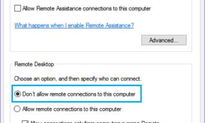 Windows 10'da Uzak Masaüstü (RDP) Nasıl Devre Dışı Bırakılır