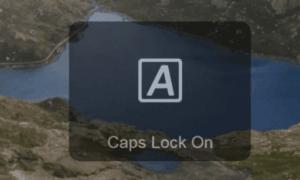 Windows 10 Caps Lock Bildirimlerini Devre Dışı Bırak