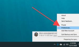 Google Drive Yedekleme ve Senkronizasyon Klasör Konumu Nasıl Değiştirilir