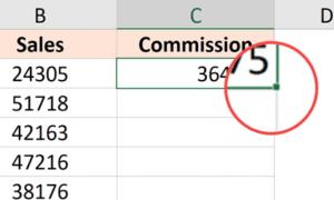 Excel'de Tüm Sütuna Formül Nasıl Uygulanır