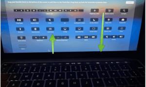 MacBook Pro Touch Bar Yapılandırma