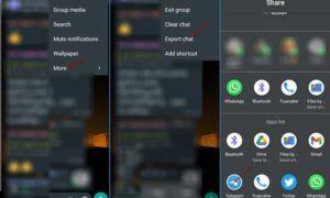 WhatsApp Sohbet Geçmişini Telegram'a Taşıma