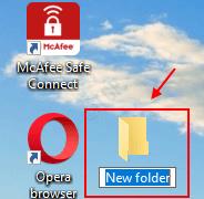 Windows 10'da Klasör Nasıl Oluşturulur