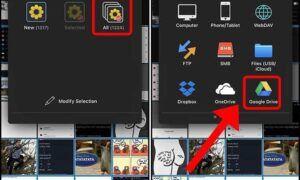 İPhone'dan Google Drive'a Tüm Fotoğrafları Yükleme